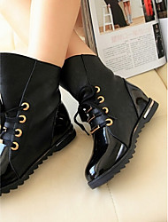 Women's Shoes New Flat Heel Comfort Fashion Combat Ankle Boots
