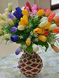 Полиэстер Магнолия Искусственные Цветы