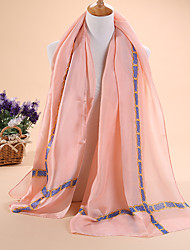 Hot selling new Ms fashion satin scarves long scarf shawl