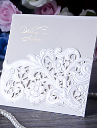 Personalized Wrap & Pocket Wedding Invitations Invitation Cards-50 Piece/Set Card Paper