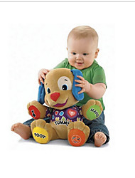 New Baby Toys Fisher Dog Baby Musical Plush ElectronicToys Juguetes  Toy Singing English Songs