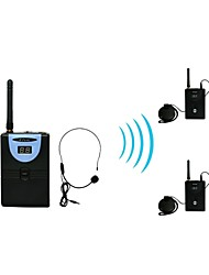 2.4G Digital Wireless Tour Guide / Translation system (1 Transmitter and 2 Receivers)