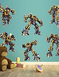 stickers muraux stickers muraux, transformateurs fraîches sticker mural bourdon pvc