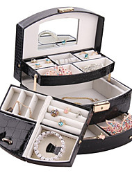 Classic Modern Jewelry Box Ring Gift Display Cufflink DIY Necklace Carbinet Caskets ZG172C