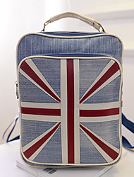 Mitesi Women'S Union Jack Denim Shoulder Bag