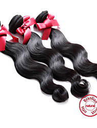 EVET Brazilian Body Wave 100% Vingin Humam Hair Extensions 3 Bundles 100g/pc Free Shipping