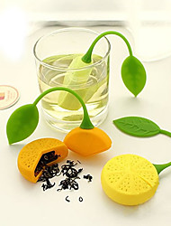 Teapot Herb Orange Lemon Shape Tea Strainer Filter Infuser Bag