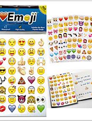 2015new 960pcs / пакет Emoji наклейки наклейки популярные Emoji для мобильного телефона Дети номера домашнего декора