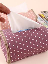 tissu créatif boîtes de mouchoirs de point de vague de domaine de l'art de haute qualité