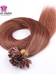 25 Bonds Stock Light Color Mongolian Remy Nail Tip Hair Extensions 20 inch U Tip Hair Extensions NEW!!!