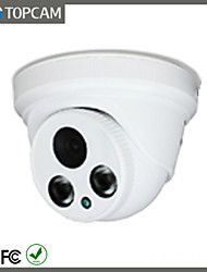 TOPCAM 2.0Megapixel Surveillance Camera Indoor Dome 2pcs Array Lens IP Camera