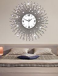 moderno metallo stile orologio da parete muto