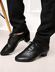 Sapatos de Dança ( Preto ) - Homens - Não Personalizável - Latim/Salsa
