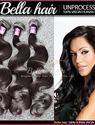 Peruvian Virgin Hair Body Wave Queen Weave Beauty 3pcs/lot Remy Human Hair Extensions Virgin Hair Bundles