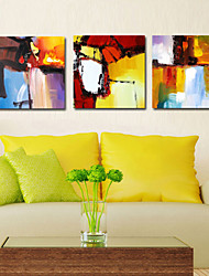VISUAL STAR®Abstract Triptych Canvas Wall Art Three Panels High Quality Canvas Ready to Hang