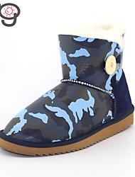 MG Winter Boots Warm Flat Heel  2015 New Arrive Women's Boots Snow BootsTwinface Sheepskin Shoes 2015 Autumn