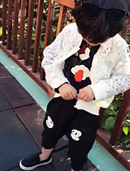 Girl's Mouse Nine Points Harem Cotton Pants , Winter/Fall