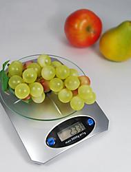 5kg 1g digitale keukenweegschaal desktop gewicht met LCD-display tarrafunctie