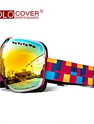 volocover Doppelschicht-Linsen anti fog Anti UV-Skibrille