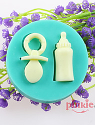Baby Bottle Nipples Fondant Cake Chocolate Silicone Molds,Decoration Tools Bakeware