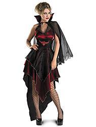 Gorgeous Vampire Female Count Halloween Vampires Costumes