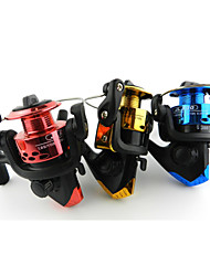 Hengjia Mini Spinning Fishing Reels Front Drag 3BB 5.2:1 Sea Beach Fly Fishing Pesca Reel Line Roller JL200