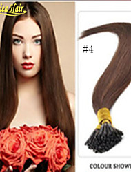 Straight I tip Hair Extensions 100 strand/set Keratin Sexy Stick Tip Fusion Hair Extension 18-28 inch Wholesale