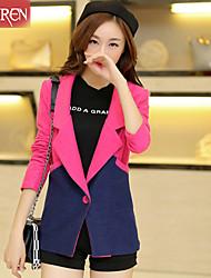 Muairen®Women'S Korean Fashion Spell Color Jacket