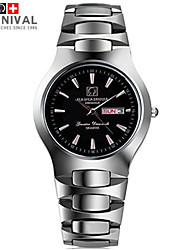 Watch The JIANIANHUA Business Series Waterproof Quartz Watch Watch Steel Men And Women On The Table