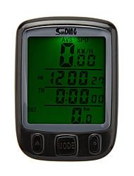 Bike Bicycle Cycling Computer Odometer Speedometer LCD Backlight Backlit Waterproof Multifunction
