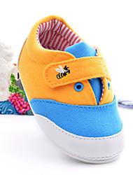 Baby Shoes - Casual - Ballerine - Di corda - Blu / Giallo