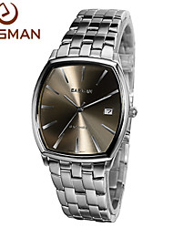 EASMan Brand Watch Men Luxury Men Quartz Watch 2015 New Hot Coffee Brown Style Sapphire Wristwatches Watches For Man