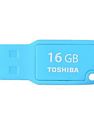 Original TOSHIBA 16GB USB 2.0 Flash Pen Drive TransMemory Mini MIKAWA UMKW-016GM