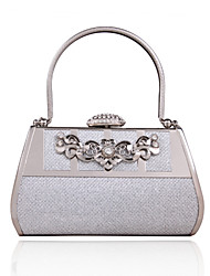 Handbag Faux Leather/Metal Evening Handbags/Bridal Purse With Crystal/ Rhinestone/Metal
