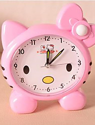 Cute Cartoon Cat Boutique Alarm Clock