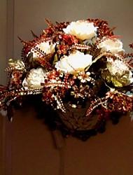 Cherish augmenté ® classique conduit vase de fleur de simulation de filtre à air a augmenté éléments romantiques de style européen novety