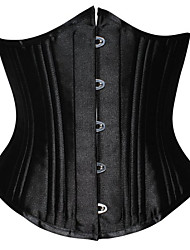 Shapewear Waist Cincher Acrylic/Polyester Black