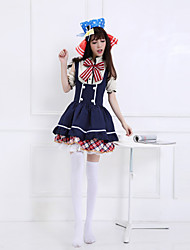 Love Live! Rin Hoshizora Deep Blue Cosplay Costumes
