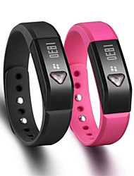 I5 Wearable Smart Wristband Bracelet Screen Bluetooth4.0 Pedometer/Sleep Monitor for Android/iOS Smartphone