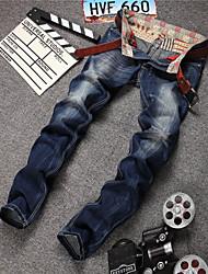 2015 Fasion New Men Korean Straight Jeans