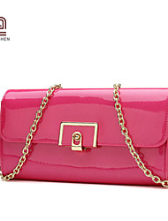 Handcee® Best Seller Good Quality PU Fashion Woman Purse with Chain