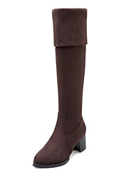 Women's Shoes Chunky Heel Fashion Round Toe Over The Knee Boots Dress More Colors available