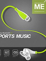 bluetooth 4.1 écouteurs de sport stéréo sans fil écouteurs du casque écouteurs avec micro APTX microphone pour les téléphones portables à