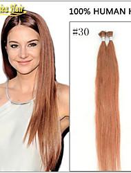 indien i lève extension de cheveux 1G tenir bâton cheveux de pointe 100 pointe de kératine extensions de cheveux humains