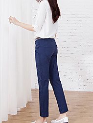 Women's Casual Loose Pants , Cotton Micro-elastic