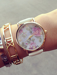 Vintage Flowers Watches Women's Strap Watches Vintage Ladies Watches,Gifts for Her,Birthday Gift Cool Watches Unique Watches Fashion Watch