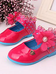 Baby Shoes - Formale / Casual - Ballerine - Di pelle - Rosa / Rosso / Borgogna