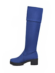 fashionable elegant and knee-high boots three colors available