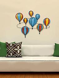 e-FOYER décor de mur d'art de mur de résine, des ballons colorés mur décor un pcs