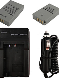 EL24 x2 850mAh Camera Battery + Car Charger for Nikon 1 J5